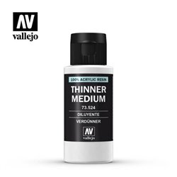 VALLEJO 73.524 Auxiliary Model Color Thinner Thinner 60 ml.