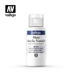 VALLEJO 26.518 Vernis Mat 60 ml.