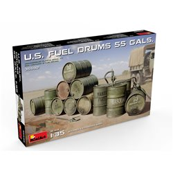 MINIART 35592 1/35 U.S. Fuel Drums (55 Gals.)