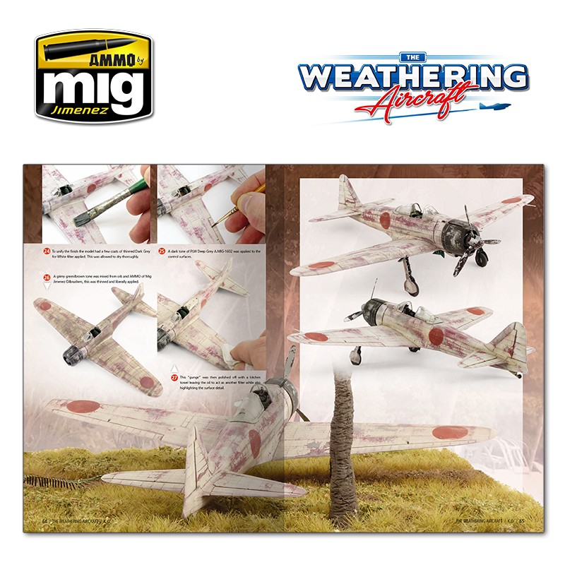 AMMO BY MIG A.MIG-5213 The Weathering Aircraft 13 - K.O. English - Passion  132