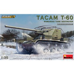 MINIART 35230 1/35 TACAM T-60 Romanian Tank Destroyer Interior included