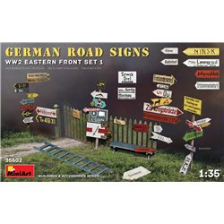MINIART 35602 1/35 German Road Signs WW2 Eastern Front set 1