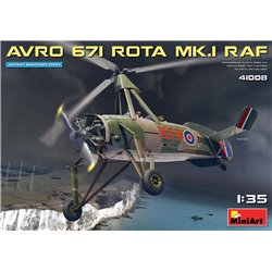 MINIART 41008 1/35 Avro 671 Rota Mk.I RAF