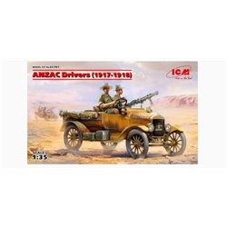 ICM 35707 1/35 ANZAC Drivers (1917-1918)(2 figures)