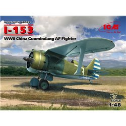 ICM 48099 1/48 I-153,WWII China Guomindang AF Fighter