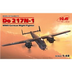 ICM 48271 1/48 Do 217N-1,WWII German Night Fighter (100% new molds)