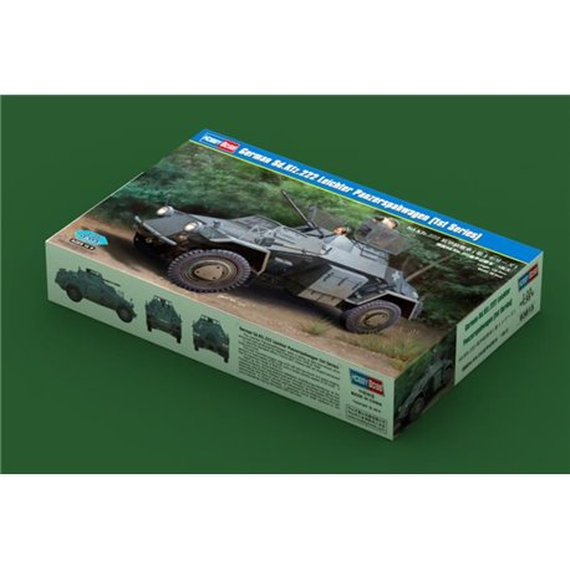 HOBBY BOSS 83815 1/35 German Sd.Kfz.222 Leichter Panzerspahwagen (1st Series)*