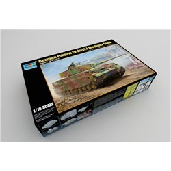 TRUMPETER 00921 1/16 German Pzkpfw IV Ausf.J Medium Tank*