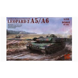 BORDER MODEL BT-002 1/35 Leopard 2A5/A6, A5 A6 Early & A6 Late