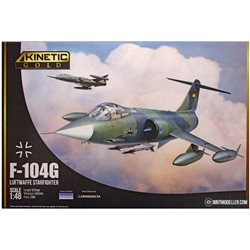 KINETIC K48083 1/48 F-104G Germany Air Force and Marine