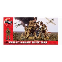 AIRFIX A04710 1/32 WWII British Infantry Support Group