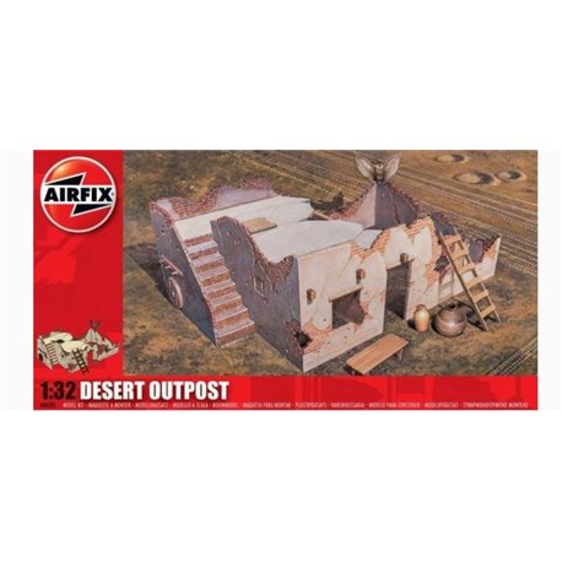 AIRFIX A06381 1/32 Desert Outpost
