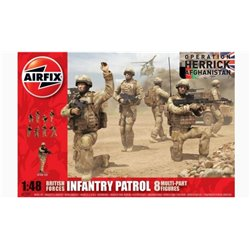 AIRFIX A03701 1/48 British Forces Infantry Patrol Operation Herrick Afghanistan