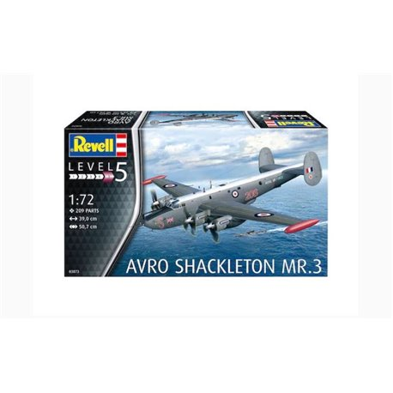 REVELL 03873 1/72 Avro Shackleton MR.3