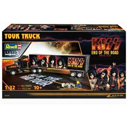 "REVELL 07644 1/32 Gift Set ""KISS"" Tour Truck ""Rock"