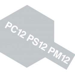 TAMIYA 86012 Peinture Bombe Spray PS-12 Argent / Silver