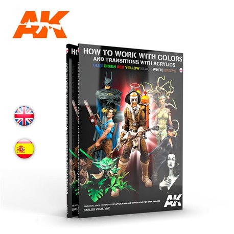 AK INTERACTIVE AK293 How To Work With Colors And Transitions - English