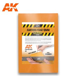 AK INTERACTIVE AK8094 CARVING FOAM 10MM A4 SIZE (305 X 228 MM)