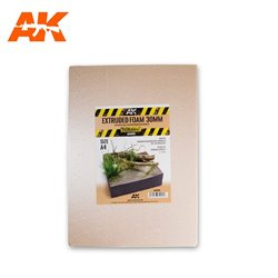 AK INTERACTIVE AK8099 Extruded Foam 30 Mm A4 Size