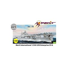 MERIT 65302 1/350 USS Enterprise CV-6