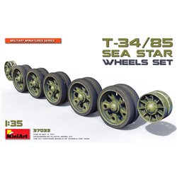 MINIART 37033 1/35 T-34/85 Sea Star Wheels Set