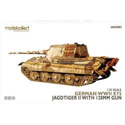 MODELCOLLECT UA35003 1/35 German WWII E75 Jagdtiger II w.128mm gun