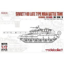 MODELCOLLECT UA72175 1/72 Soviet T-80 late type main battle tank 1990s-2010s N in 1