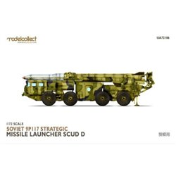 MODELCOLLECT UA72186 1/72 Soviet 9P117 Strategic missile launcher (SCUD C)Soviet 9P117 Strategic missile l