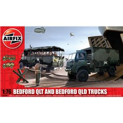 AIRFIX A03306 1/76 Bedford QLD/QLT Trucks