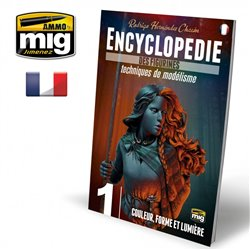 AMMO BY MIG A.MIG-6241 ENCYCLOPEDIA OF FIGURES MODELLING TECH VOL.1 French
