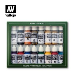 VALLEJO 70.143 Model Color Set Imperial Rome (16) 16 color Set 17 ml.