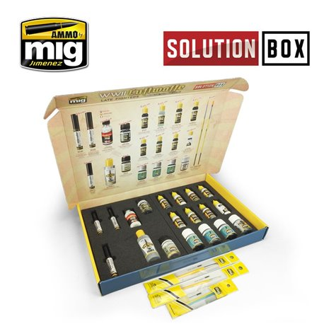 AMMO BY MIG A.MIG-7702 WWII LUFTWAFFE LATE FIGHTERS SOLUTION BOX