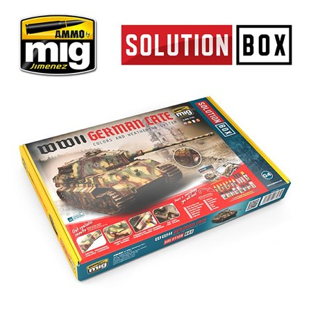 AMMO BY MIG A.MIG-7703 WWII GERMAN LATE SOLUTION BOX