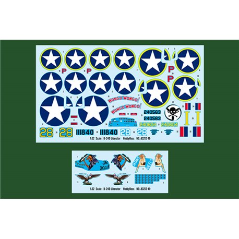 HOBBY BOSS 83212 1/32 US B-24D Liberator