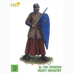 HaT 28001 28mm El Cid Spanish Heavy Infantry