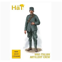 HaT 8259 1/72 Italian Artillery Crew WWI