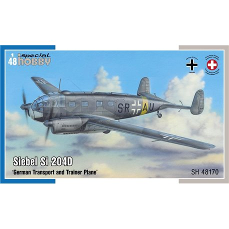 SPECIAL HOBBY SH48170 1/48 Siebel Si 204D German Transport and Trainer Plane
