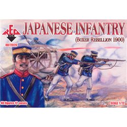 RED BOX RB72020 1/72 Japenese Infantry 1900