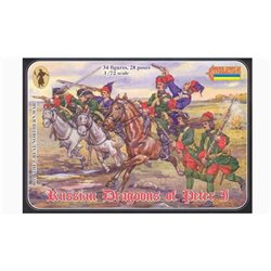 STRELETS 0010 1/72 Russian Dragoons of Peter I