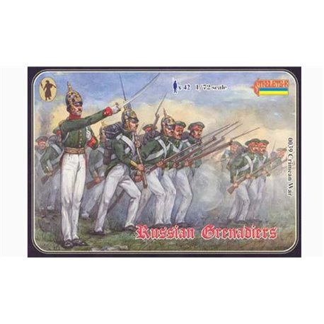 STRELETS 0039 1/72 Russian Grenadiers