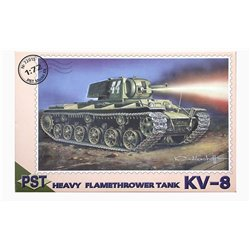 PST 72015 1/72 KV-8 Heavy flamethrower tank