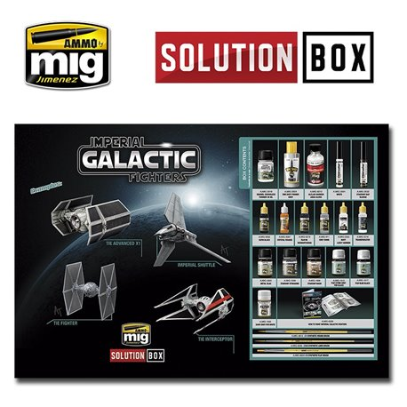 AMMO BY MIG A.MIG-7720 How To Paint Imperial Galactic Fighters Solution Box
