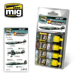 AMMO BY MIG A.MIG-7226 Spanish Civil War - Nationalists Aircrafts Set
