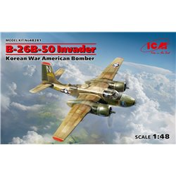 ICM 48281 1/48 B-26B-50 Invader, Korean War American Bomber