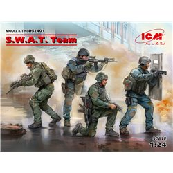 ICM DS2401 1/24 S.W.A.T. Team (4 figures)