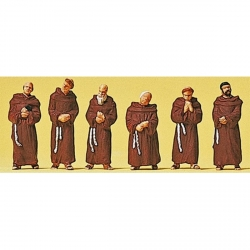 Preiser 10198 Figurines HO 1/87 Moines franciscains - Fransiscan Friars