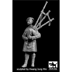 BLACK DOG F35208 Scottish piper WW I 1/35