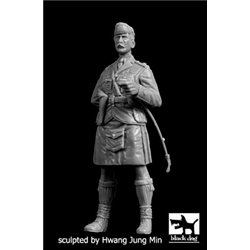 BLACK DOG F35207 Scottish officer WW I 1/35