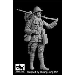 BLACK DOG F35200 French soldier WW I 1/35