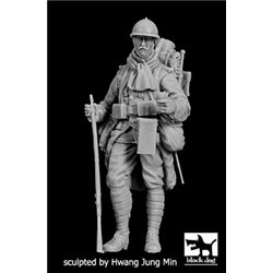 BLACK DOG F35201 French soldier WW I 1/35